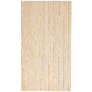 4-Pack 5x9x1 Inches Unfinished MDF Wood Block Smooth Surface for Crafts and DIY