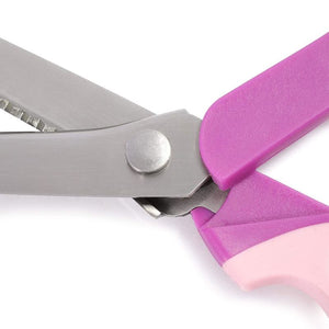 Paper Edge Scissor Scalloped Edge Craft Scissor for DIY Craft Projects, Pink