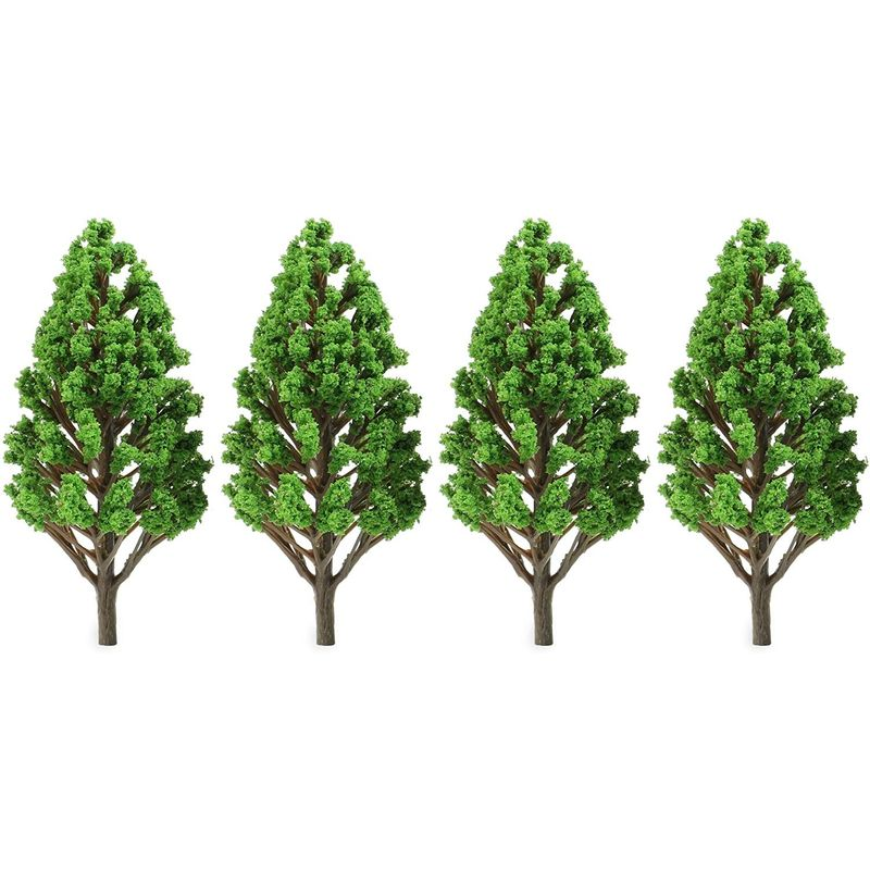Miniature Model Trees for Dioramas, DIY Crafts (5 Sizes, 22 Pieces)