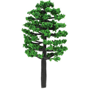 Miniature Model Trees for Dioramas, Model Railroad Scenery (3.5 in, 20 Pack)