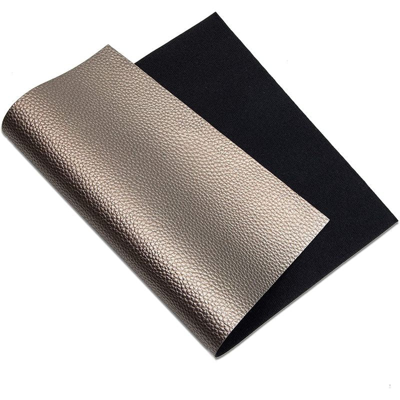 Metallic Faux Leather Sheets for DIY Jewelry Earrings,10 Colors (8 x 12 in, 10 Pack)