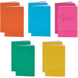 Lined Storybooks for Kids, 6 Colors, 12 Sheets Each (8.5 x 5.5 In, 12 Pack)