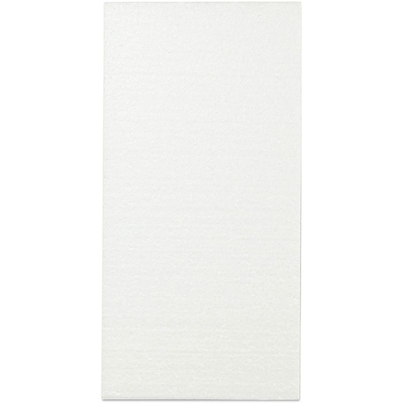 White Foam Blocks for Arts and Craft Supplies (8 x 4 x 1 in, 12 Pack)