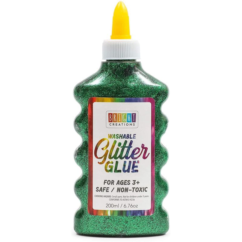 Glitter Glue Pen Set, 6.76 Oz Glitter Bottles in 8 Colors (3
