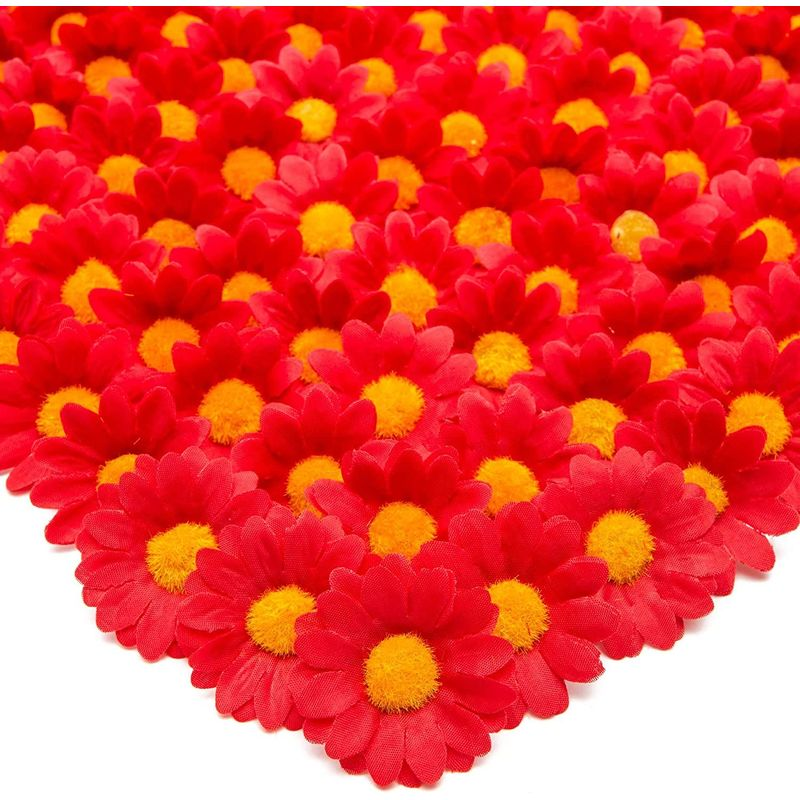 Bright Creations Artificial Silk Daisy Flowers Head for Craf