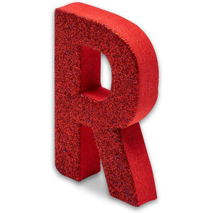 Foam Glitter Letters, 3 Colors (52 Pieces)