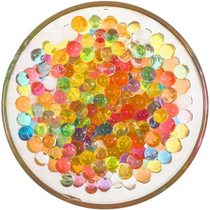 Over 30,000 Colorful Water Beads with Scoop, Tweezers, Strainer, and Balloons (5 Pieces)
