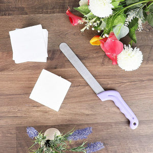 Stainless Steel Foam Cutting Knife for DIY Crafts (14.2 x 1.1 Inches)