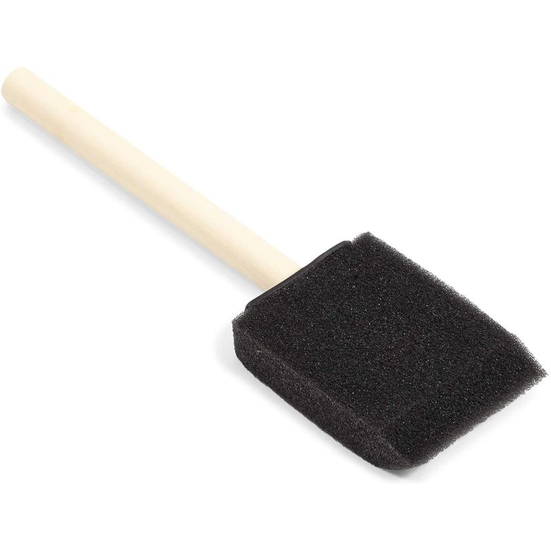 Foam Paint Brushes, 2 Inch Sponge Brushes for Arts and DIY C