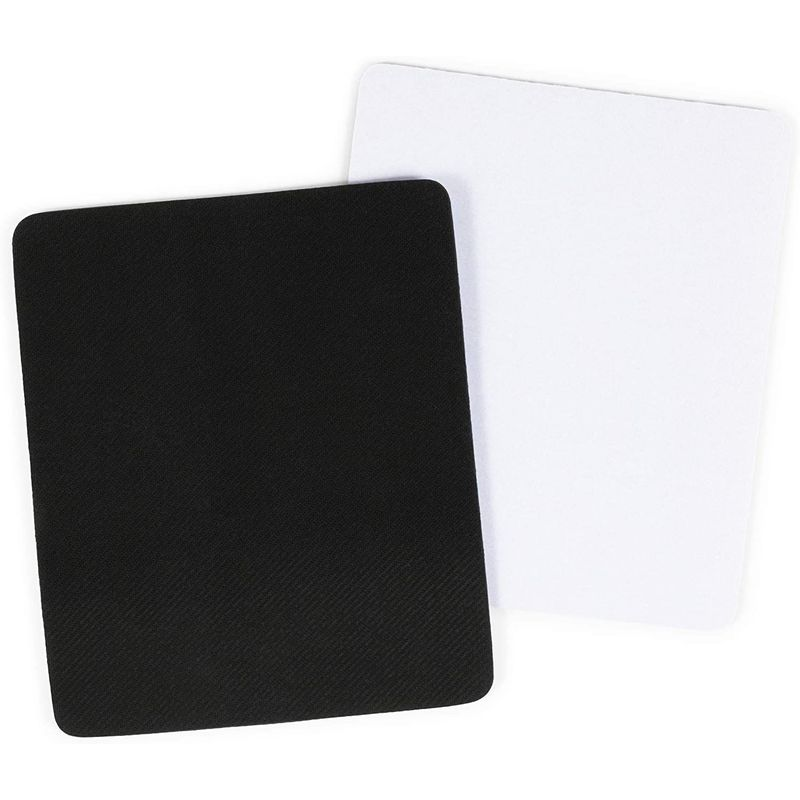 Blank Mousepads for Sublimation (9.6 x 7.9 in, White, 18 Pack)