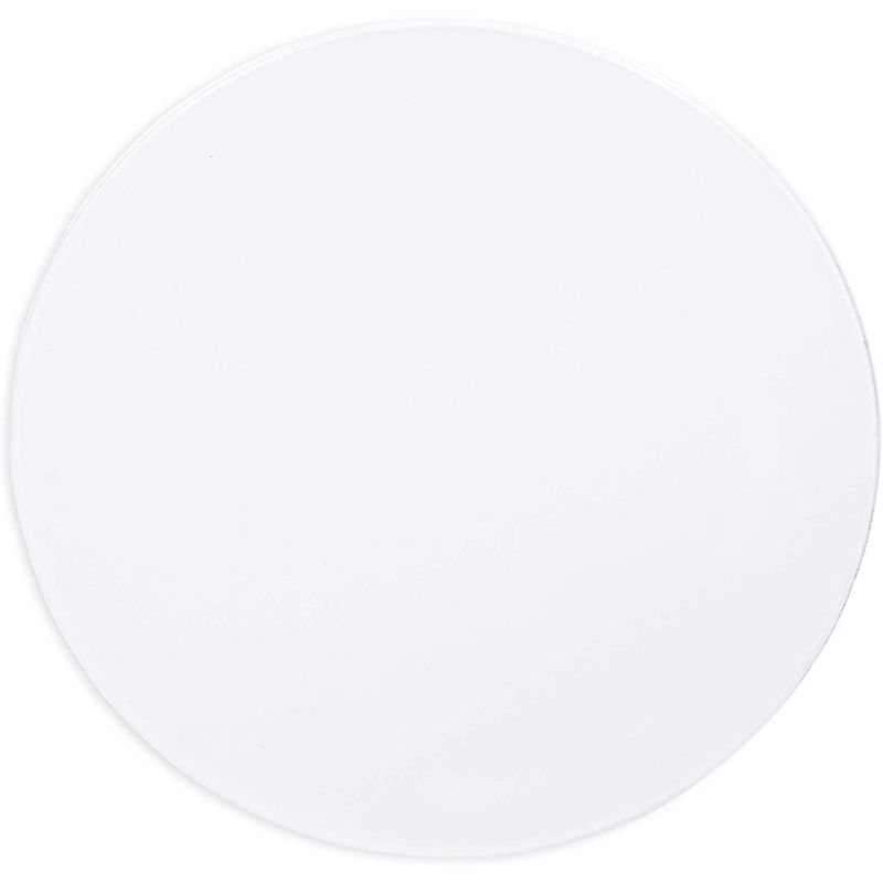 Clear Acrylic Disks, Round Circles for Arts and Craft Supplies (4 Inches, 20 Pack)