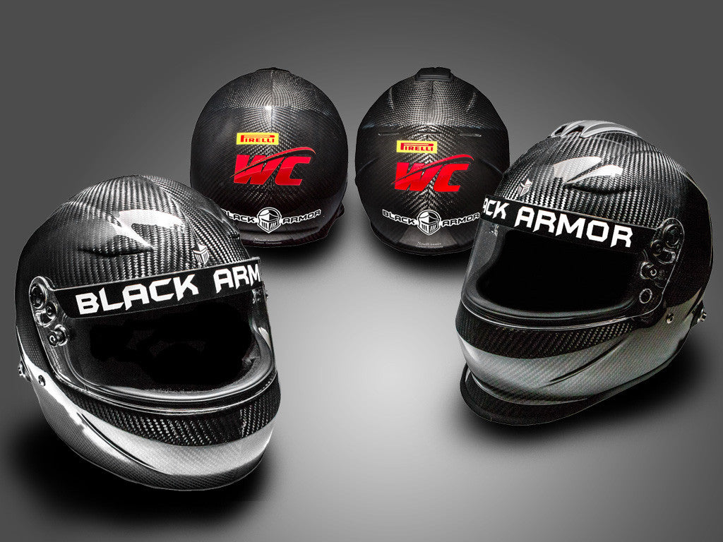 Black Armor Helmets Named Official Helmet of Pirelli World Challenge Safety and Pace Car Team