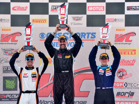 Team Black Armor Helmets Sweeps Pirelli World Challenge at Road America!