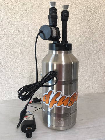 DFuser Kool Portable Cool System 64 oz with Quick Disconnect Mount