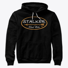 Load image into Gallery viewer, STALKER MAD BIKE Tactical Black Hoodie - STALKER MAD BIKE