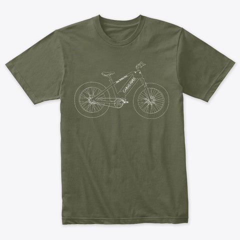 CARNIVORE by STALKER MAD BIKE T-Shirt Unisex - STALKER MAD BIKE