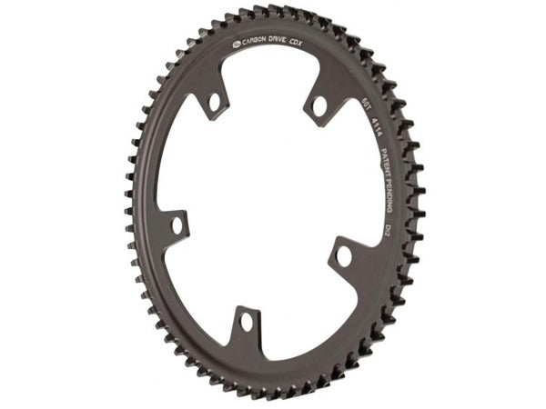 Gates Carbon Drive Belt Drive Cdx Front Sprocket, 130BCD-60T Di2 - STALKER MAD BIKE
