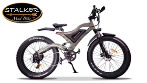 PREDATOR Mad Bike® - Fat Bike Électrique Off Road Haute Vitesse 750W 48V 11.6Ah 70km 90Nm