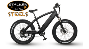 STEELS Mad Bike® - Fat Bike Électrique Tout Terrain Haute Vitesse - 500W 48V 11.6Ah 50km 85Nm - STALKER MAD BIKE