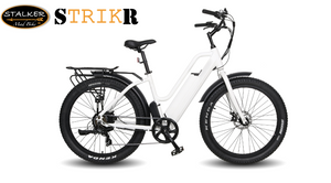 STRIKR Mad Bike® - Vélo Fat Bike Électrique Toutes Routes - STALKER MAD BIKE