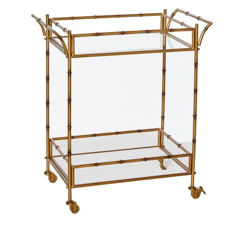 August and Leo Bar Cart