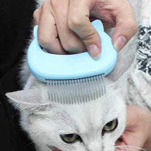 Load image into Gallery viewer, Pet Cat Grooming Massage Brush With Shell Shaped Handle