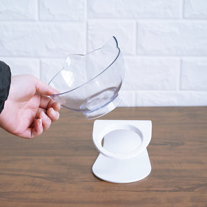 Non-slip Cat Bowls With Raised Stand For Good Posture