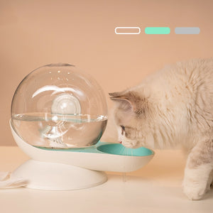 Snail-Shaped Automatic Refill Cat Water Dispenser