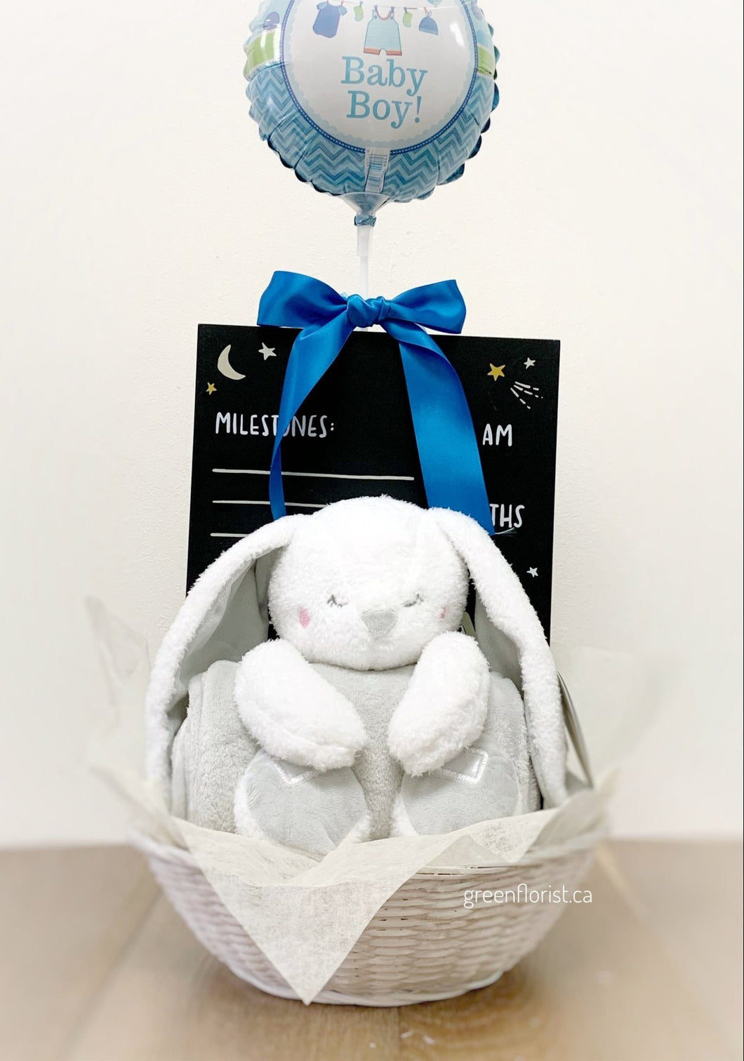New baby gift basket for Boy