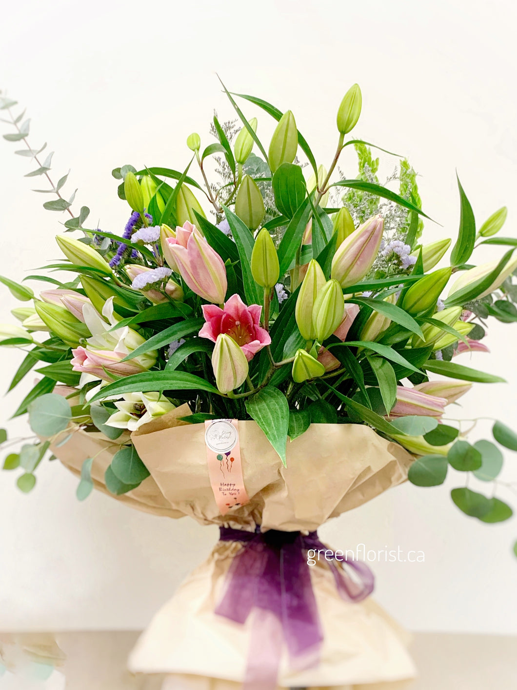 Lily-Lover Bouquet
