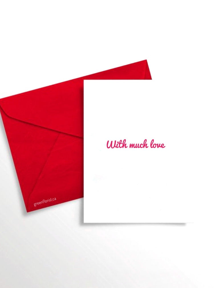 Add Full Size Greeting Card