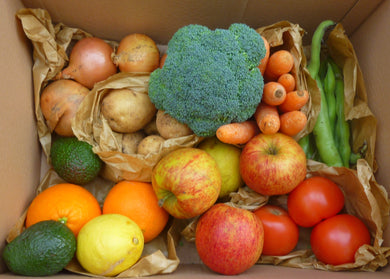 Organic Mixed Fruit and Veg Box - Square Farm Shop