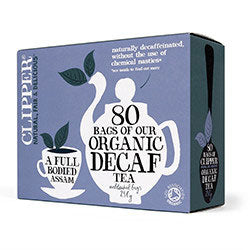 Clipper Everyday Decaffeinated Tea-bags - Square Farm Shop