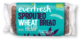 Everfresh Natural Foods Sprouted Wheat Bread - Hemp - Square Farm Shop