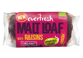 Everfresh Natural Foods Malted Raisin Loaf - Square Farm Shop