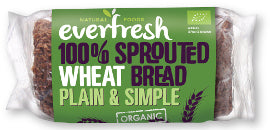 Everfresh Natural Foods Sprouted Wheat Bread - Square Farm Shop