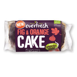 Everfresh Natural Foods Fig and Orange Cake with Sprouted Grain - Square Farm Shop