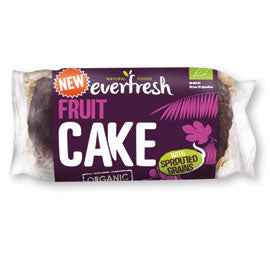 Everfresh Natural Foods Fruit Cake Sprouted Grain - Square Farm Shop