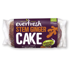 Everfresh Natural Foods Ginger Cake with Sprouted Grain - Square Farm Shop