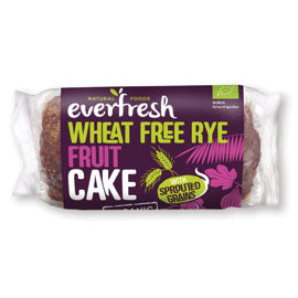 Everfresh Natural Foods Wheat Free Rye Fruit Cake with Sprouted Grain - Square Farm Shop