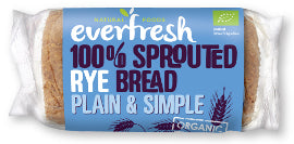 Everfresh Natural Foods Sprouted Rye Bread(nas) - Square Farm Shop