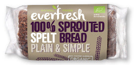 Everfresh Natural Foods Sprouted Spelt Bread (nas) - Square Farm Shop