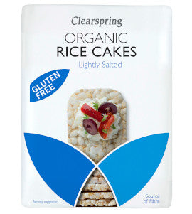 Clearspring Rice Cakes - Lightly Salted - Square Farm Shop