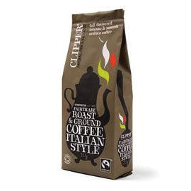 Clipper Italian Style Roast & Ground Coffee - Square Farm Shop