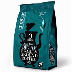Clipper Decaffeinated Style Roast & Ground Coffee - Square Farm Shop