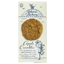 Island Bakery Organics Apple Crumbles Biscuits - Square Farm Shop