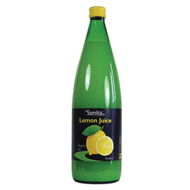Sunita Lemon Juice - Fresh Pressed - Square Farm Shop