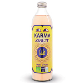 Karma Kefruit Kefir Drink -  Fig & Lemon - Square Farm Shop