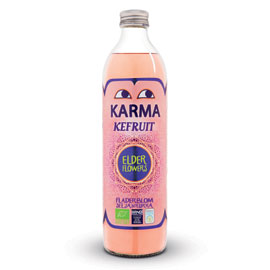 Karma Kefruit Kefir Drink -  Elderflower - Square Farm Shop