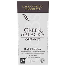 Green & Black's Cooking Chocolate - Dark (70%) - Square Farm Shop